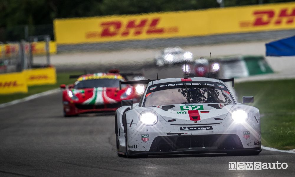 WEC 2021 6 Hours of Monza Porsche 911 RSR winner in the GTE Pro Class