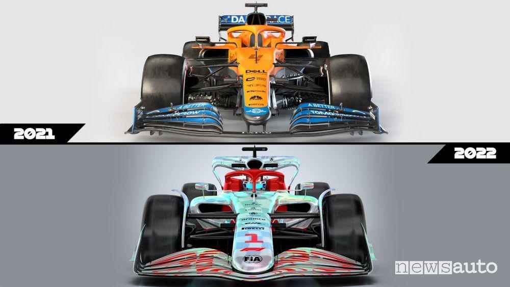 F1 cars 2022