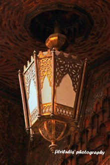 Lamp decorations that common found in Morocco