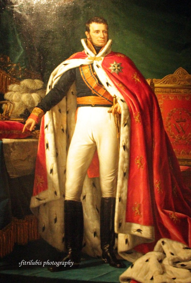 Portrait of William 1 King of the Netherlands by Joseph Paelinck