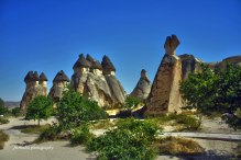 Chimney Valley, Cappadocia, Turkey