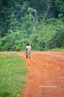 Little Girl in Solitaire. Location: Uganda