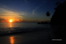 When the sunrise comes. Location: Sumur Tiga Beach, Weh Island, Indonesia