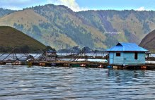 Lake Toba from other side of Balige
