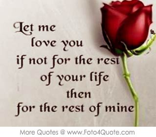 One Sided Love Quotes Wallpaper Love Quote For Couples Let Me Love You Foto 4 Quote