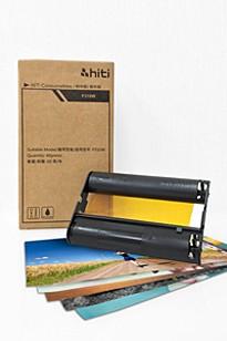 60 fotopapper + färgband, HiTi P310W