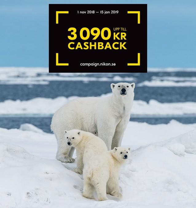 Nikon Cashback Winter 2018