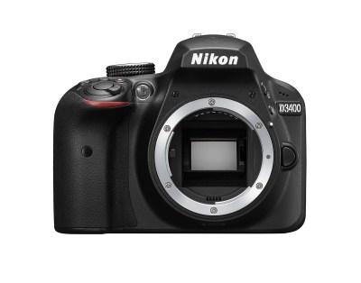 Nikon D3400 och 18-55