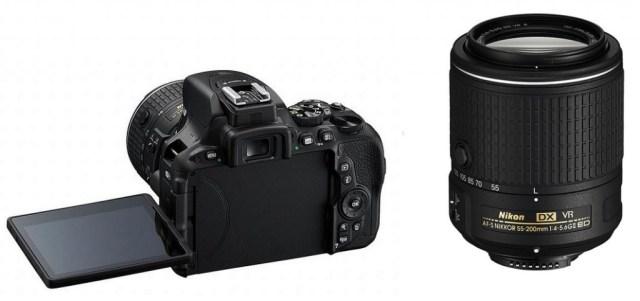 Nikon D5500 och Nikon AF-S DX ZOOM-NIKKOR 55-200mm f/4-5.6G ED VR II