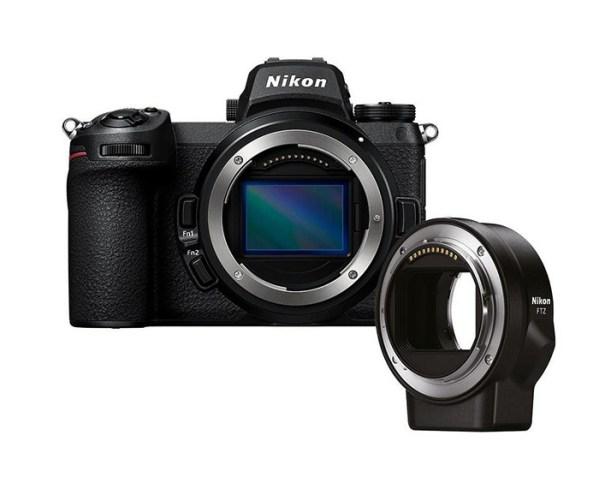 Nikon Z 7 II + FTZ Adapter