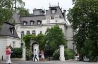 Die Villa von Modeschpferin Jill Sander in Hamburg ...