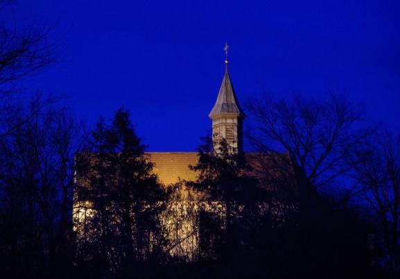 Gengenbach zur blauen Stunde