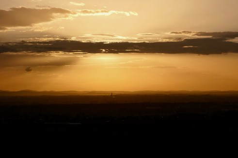 Sonnenuntergang Wolfsgrube
