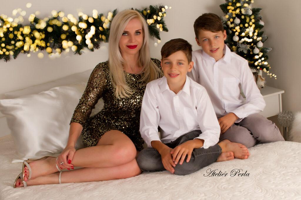 Vánoční rodinné focení, Vánoční rodinné focení Brno