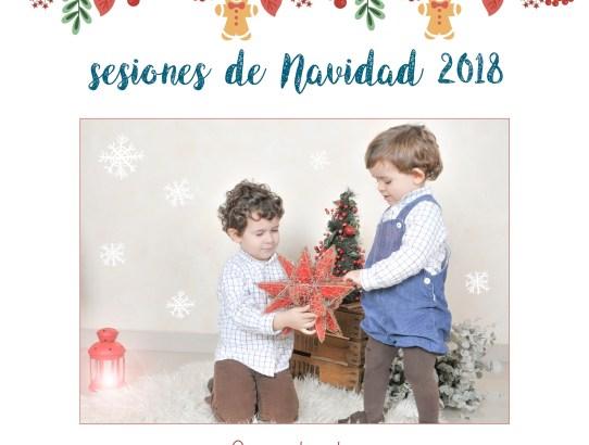 Sesiones Fotográficas de Navidad 2018 en Granada