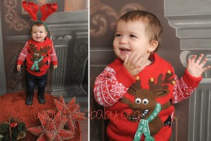 Fotografías de estudio para Navidad en Granada FotoBaby Fotografa infantil bebes embarazo fotografos (4)