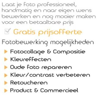 Foto bewerking service.nl is de juiste keuze