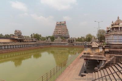 Shivaganga Teich von Chidambaram
