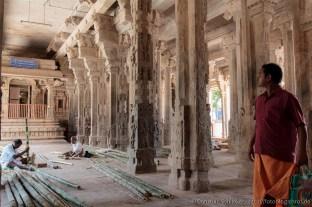 Arbeiten in der Tempel-Halle