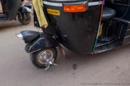 Hackfleischproduktion im Straßenverkehr