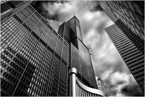 Skycraper, Chicago, Illinois, USA.
