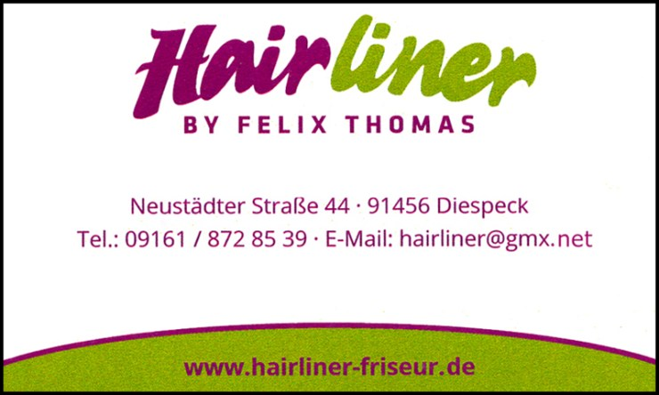 Friseur Hairliner