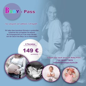 Baby-Pass Flyer, Baby