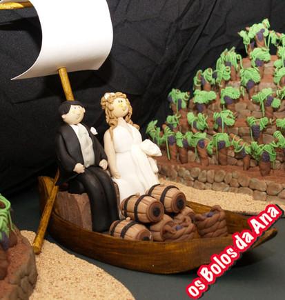 Os Bolos da Ana Bolo de Casamento Socalcos do Douro