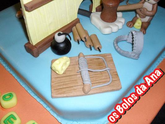 Os Bolos da Ana Bolo de Aniversário Tom and Jerry
