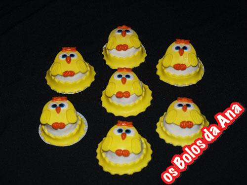 Cupcake - Queques Passarinhas - Bird Cupcakes