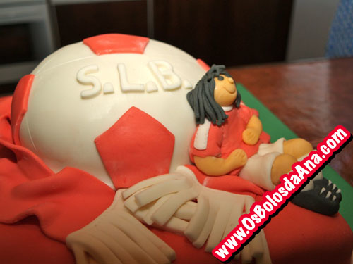 Bolo Bola Futebol Benfica