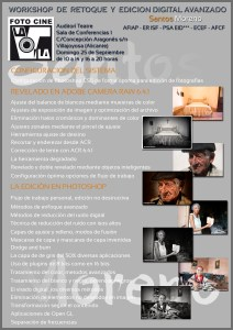 Workshop Santos Moreno en Villajoyosa
