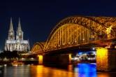 Köln, Dom und Hohenzollernbrücke, 2017