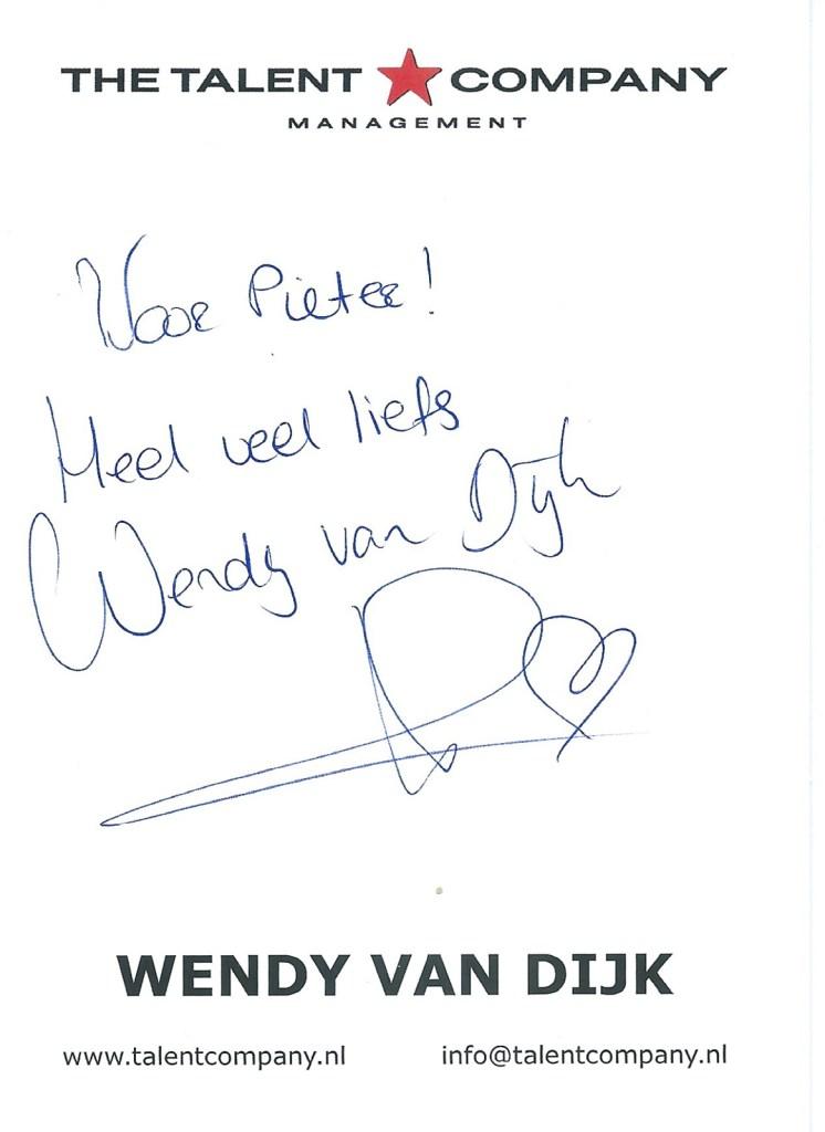 wendy van dijk back
