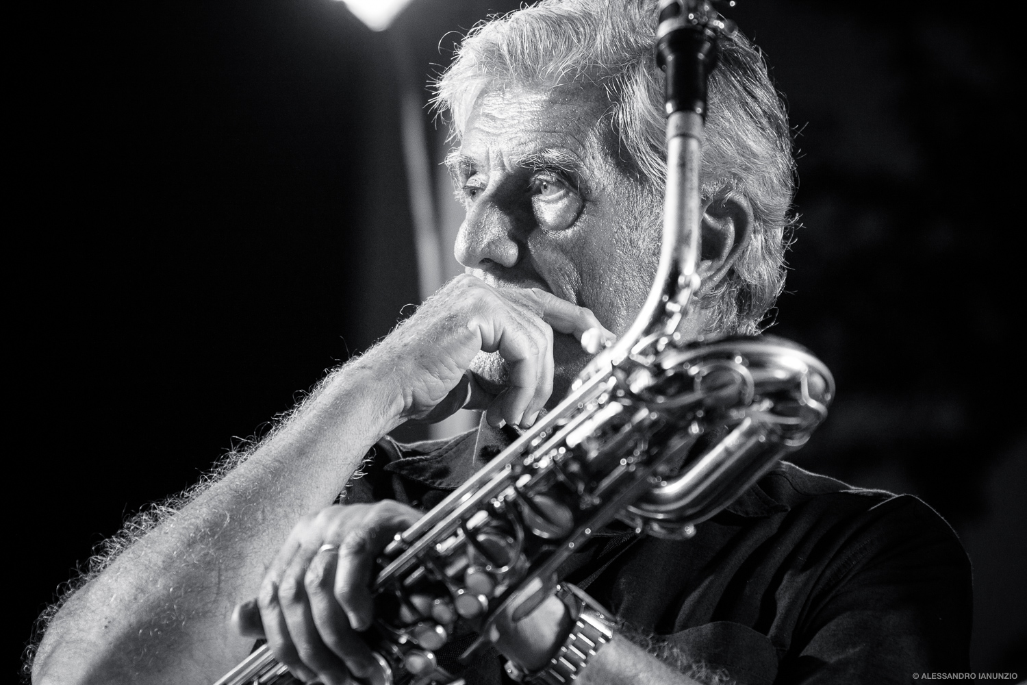 Old man and Sax