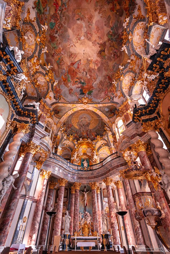 Cappella di Corte, Hofkirche, Wurzburg Gernania