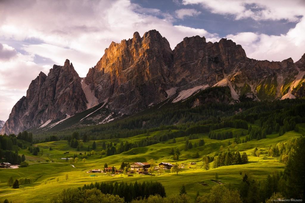 Monte Cristallo, Dolomiti, Italia
