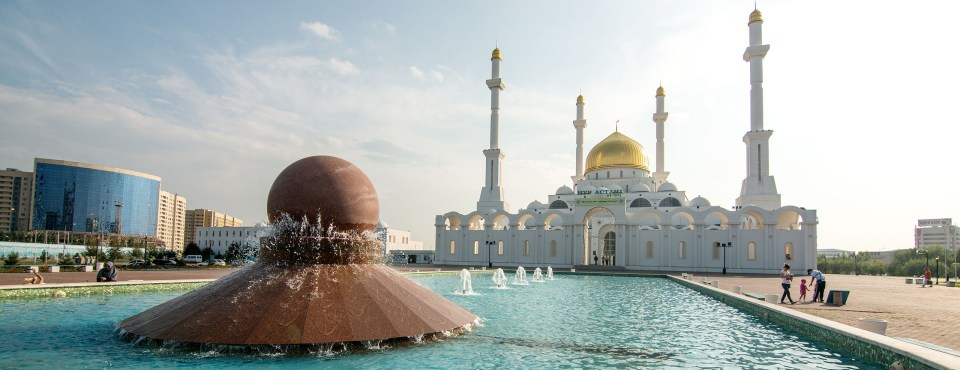 Crea goes … Kazakstan