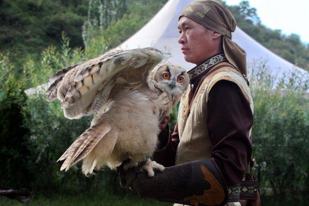 foto 61 In Kazakstan wordt nog met roofvolgels gejaagd (foto Jozef Mols)