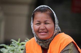 foto 67 Stadspersoneel in Almaty -foto Jozef Mols
