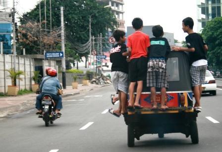 Di Jl. Merdeka Timur Jakarta