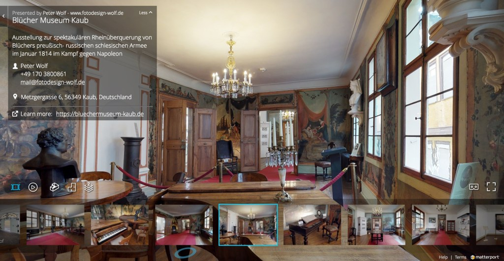 3D Virtual Tour durch das Museum