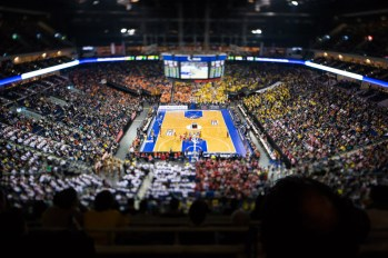 Beko BBL TOP FOUR , 1.Halbfinale, ratiopharm Ulm vs. Artland Dragons, Berlin, DEU, 2013,