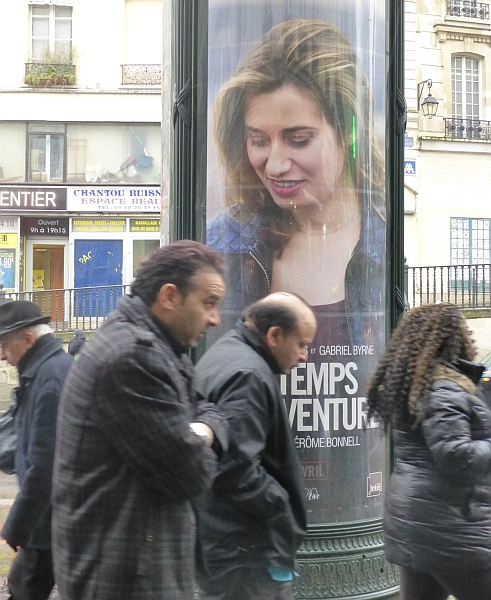 Kalter Blick, Paris 2013
