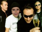 Fotomontajes con famosos. Fotos de U2.