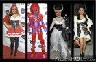 Efectos para fotos Halloween. Fotomontaje múltiple.