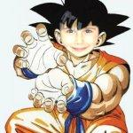 Fotomontaje Dragon Ball. Fotoefecto Goku.
