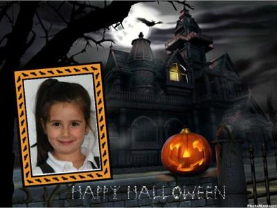 Halloween photo effects