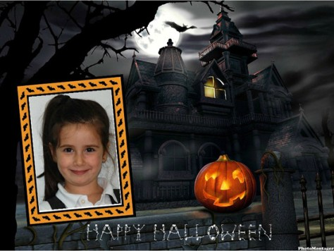 Halloween photo effects