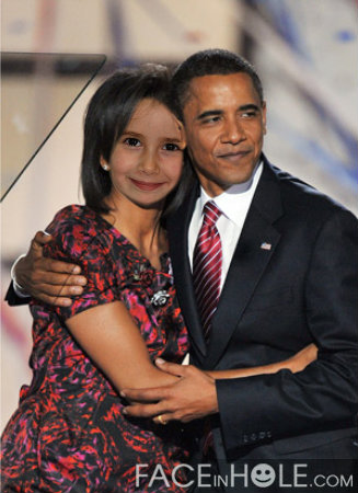 Fotoefectos Presidente Obama
